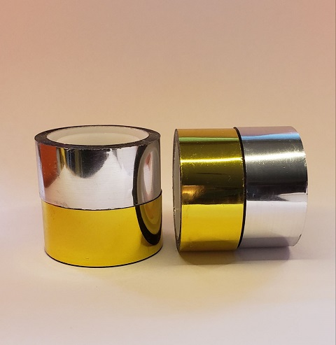 New Gold and Silver Mirror Tape